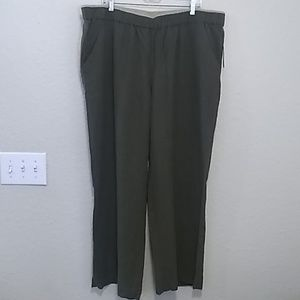 NWT Coldwater Creek 3XL relaxed fit trouser pant